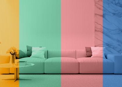 como escolher as cores na decoração do apartamento: veja dicas e inspirações